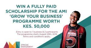AMI Grow Your Business (GYB) Programme 2019 - Nairobi, Kenya