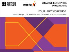 The British Council Creative Enterprise Programme in East Africa 2019